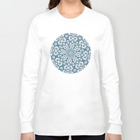 snowflake Long Sleeve T-shirts featuring Snowflake by Stay Inspired