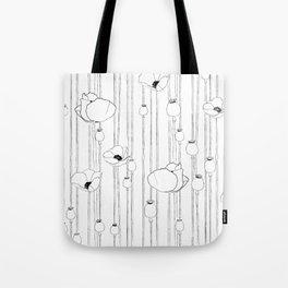 Poppy Sketch Tote Bag