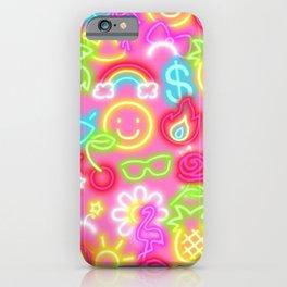 Neon Barbie iPhone Case