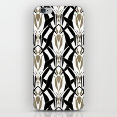 Abstract pattern retro ornament iPhone Skin