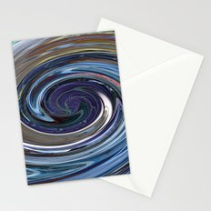 Abstract Sicilian Impression Stationery Cards
