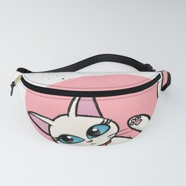 White Misty Fanny Pack