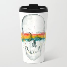 The Anonymity of Existence Travel Mug