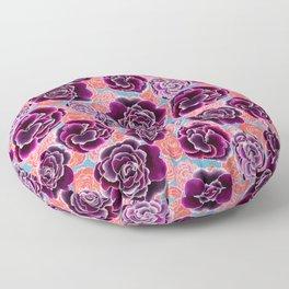 Primroses Pop Art Floor Pillow