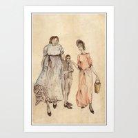 Aunties Art Print