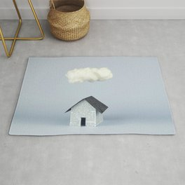 A cloud over the house Rug