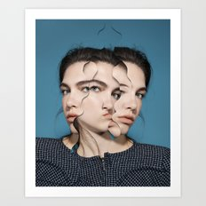Changes, NUmer IV, Freaky (2015) Art Print