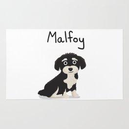 "Custom Dog Art ""Malfoy"" Rug"