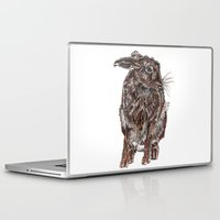 hare Laptop & iPad Skins featuring Hare by Meredith Mackworth-Praed