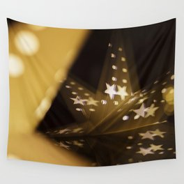 Xmas-Star And Mirror Image Wall Tapestry