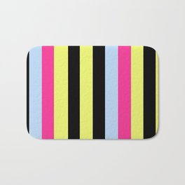 Bertie Bassett Stripes Pattern Bath Mat