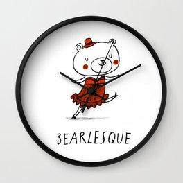 Bearlesque Wall Clock