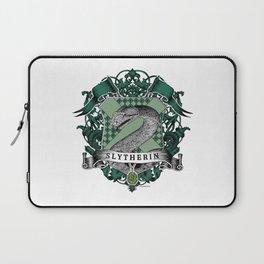 Slytherin Color Crest Laptop Sleeve