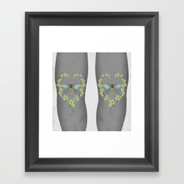 BEES KNEES Framed Art Print