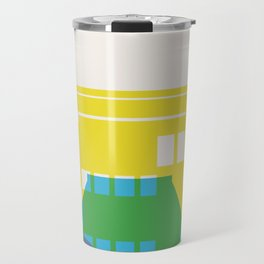 Shapes of Rio. Accurate to scale Travel Mug