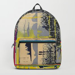 Sunday Morning - colour frame Backpack