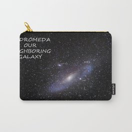 Galaxy Andromeda Carry-All Pouch