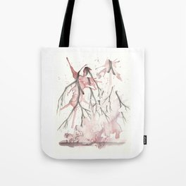 She is Strong in his Hands Tote Bag
