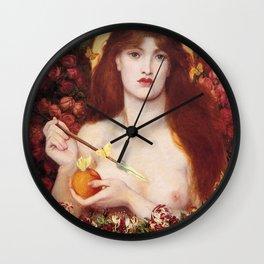 VENUS VERTICORDIA - ROSSETTI Wall Clock