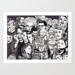 Let's Face It Art Print