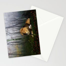 Lion and Lamb Stationery Cards