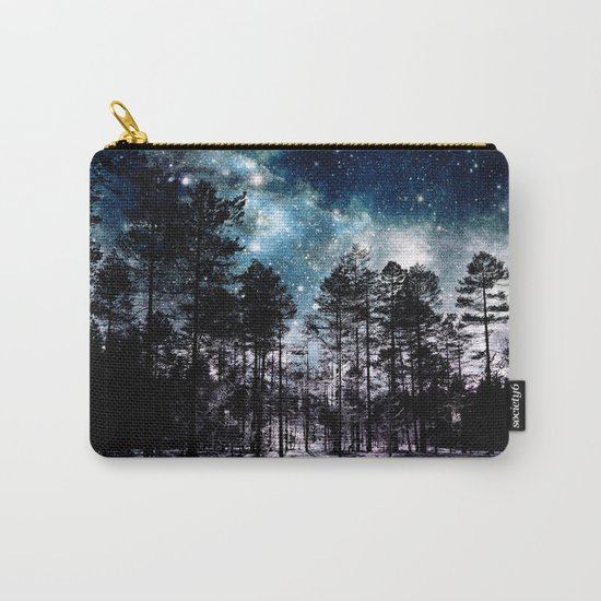 One Magical Night...(teal & lavender) Carry-All Pouch