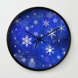 Chillin flakes Wall Clock