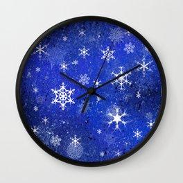 Chillin flakes Wall Clock