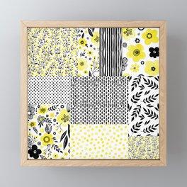 Beautiful Patch 3 Framed Mini Art Print
