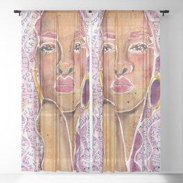Rihanna Sheer Curtain