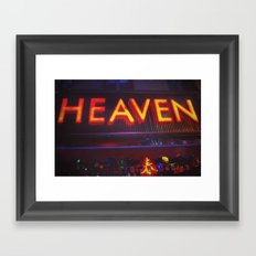 Heaven in Color Framed Art Print
