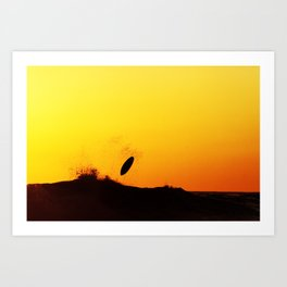 Surfing Costa Rica (180305-9117) Art Print