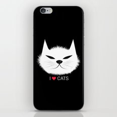 PERSONALITY OF A CAT iPhone & iPod Skin