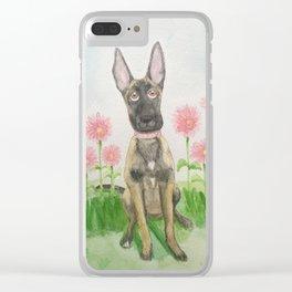 Belgian Shepherd Malinois Clear iPhone Case