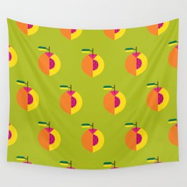 Fruit: Peach Wall Tapestry