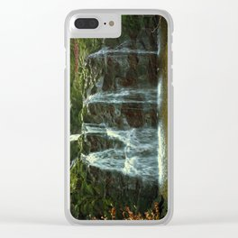 devil's crying Clear iPhone Case
