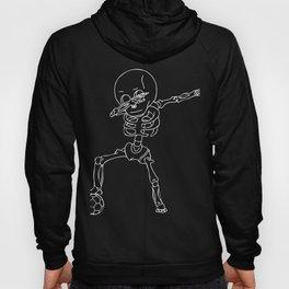Cool Dabbing Skeleton Dab Hip Hop Hoody