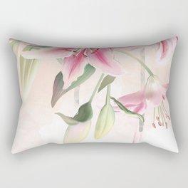 Blush lilium Rectangular Pillow