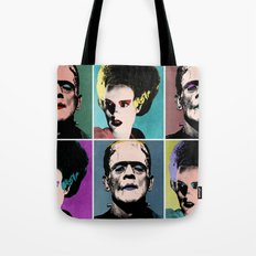 Mr. & Mrs. Frankenstein's Monster Tote Bag
