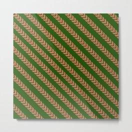 Lines of Arrows  Metal Print