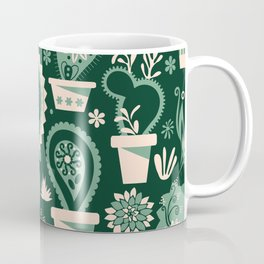 Paisley succulents Coffee Mug