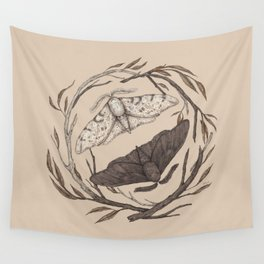 Peppered Moths Wall Tapestry