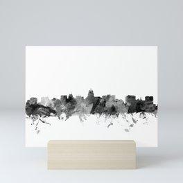 Madison Wisconsin Skyline Mini Art Print