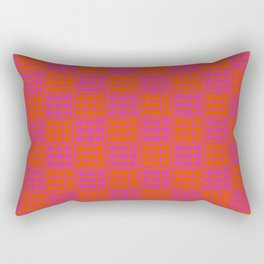Hob Nob Bright Quarters Rectangular Pillow