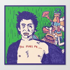 Richard Hell and the Apocalypse Canvas Print