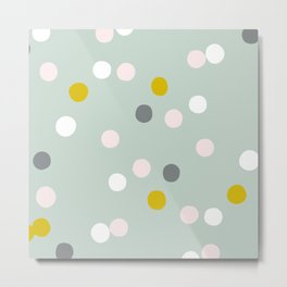 Pastel circles Metal Print