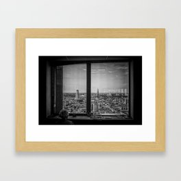 Just wanna get out... Framed Art Print