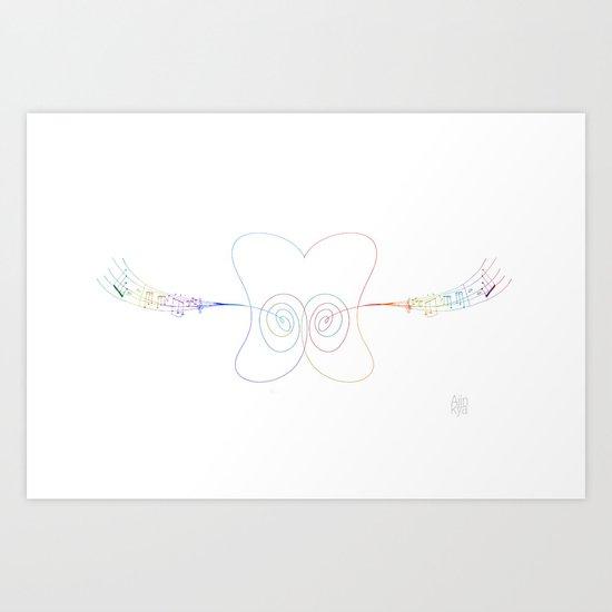 Earworm Art Print