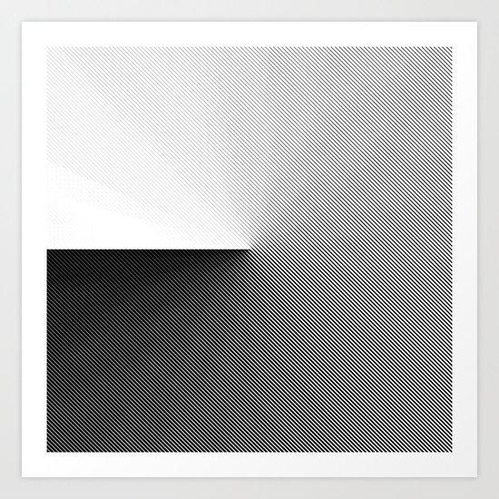 B&W 001 Art Print