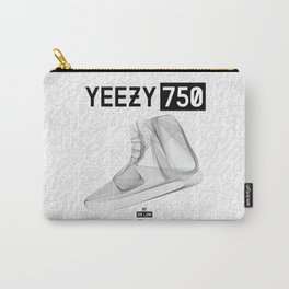 YEEZYS 750 Boost Sneakers Art Carry-All Pouch